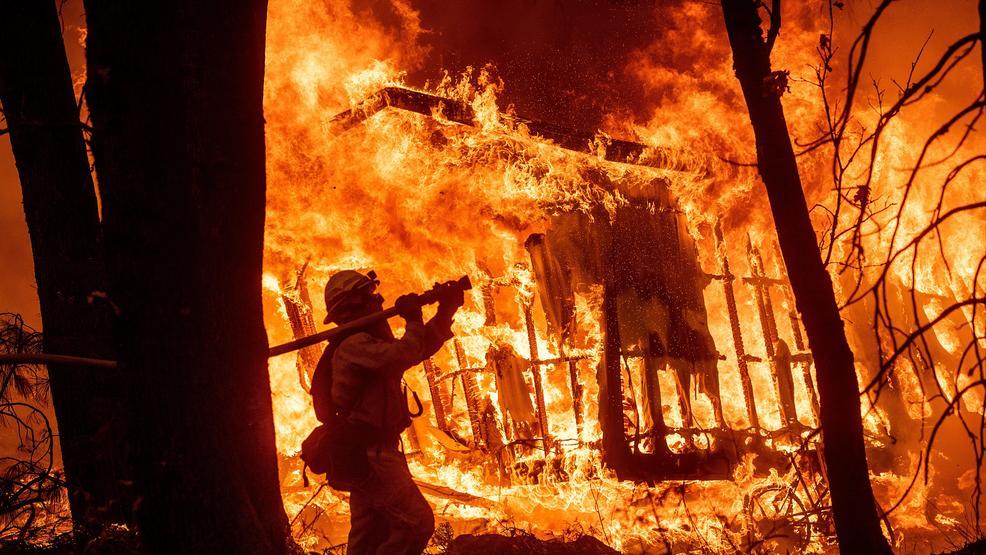 California wildfires claim 42 lives