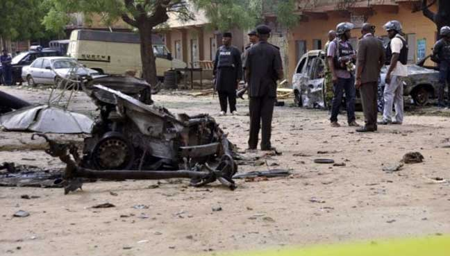 30 killed in Nigeria after Boko Haram triple suicide bombing