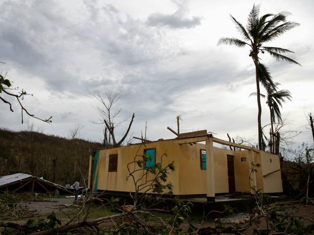 Hurricane, quake hit Central America