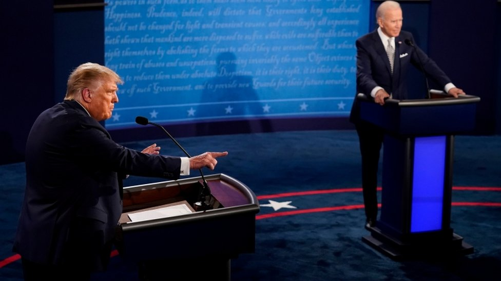 Donald Trump & Joe Biden exchange barbs over tackling of Covid-19 at final US Presidential debate