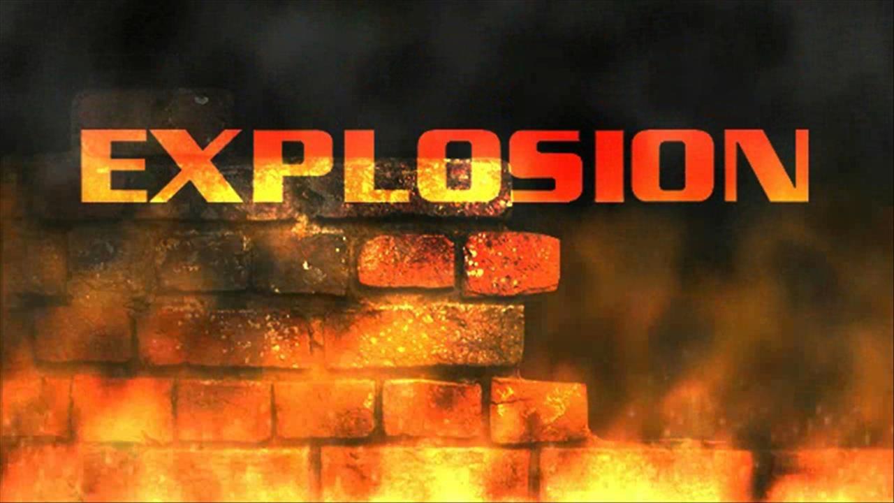 Blast near kindergarten
