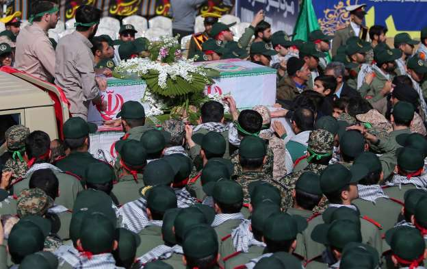 Iran says suicide bomber who killed 27 revolutionary guards was Pakistani