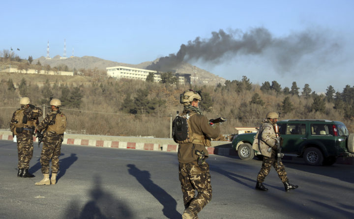 Death toll rises to 45 in Taliban attack in Afghanistan