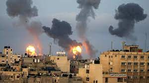 Israel conducts dozens of air strikes on Gaza Strip