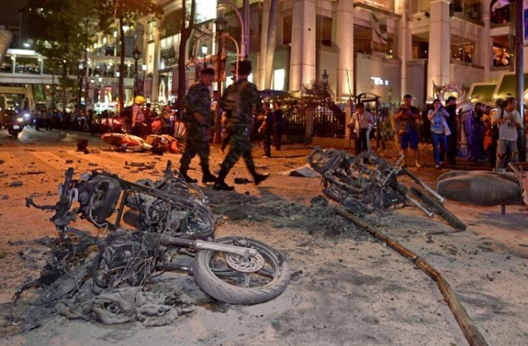 40 injured as double bombing hits Thailand