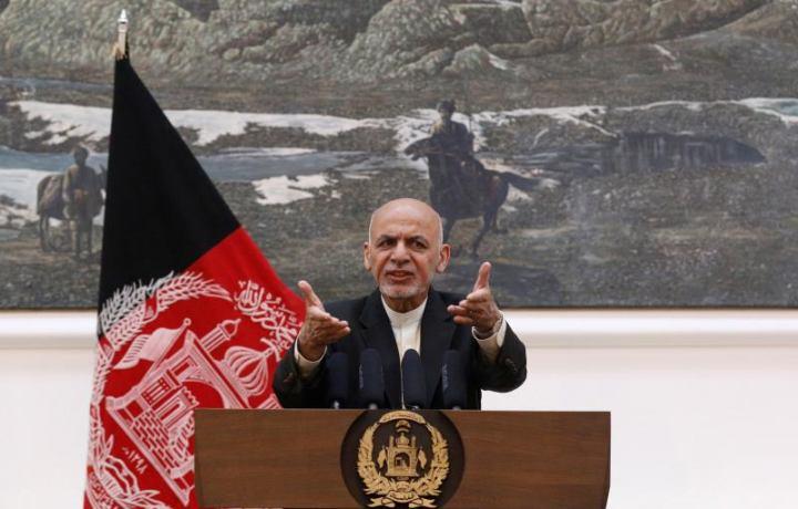 Attack in Kabul during President Ashraf Ghani