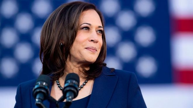 Democratic vice presidential candidate Kamala Harris turns 56 on Tuesday