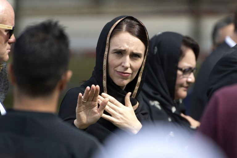 New Zealand PM Jacinda Ardern targets online hate after mosque attacks
