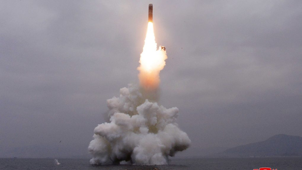 South Korea successfully tests submarine-launched ballistic missile