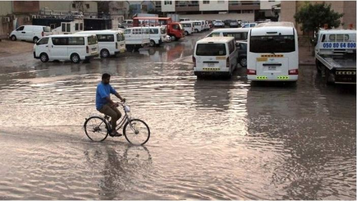 147 traffic accidents in Dubai in four hours due to rain