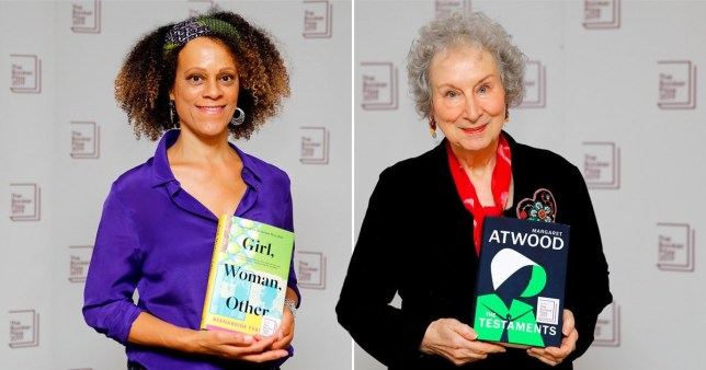 Margaret Atwood and Bernardine Evaristo jointly win Booker Prize