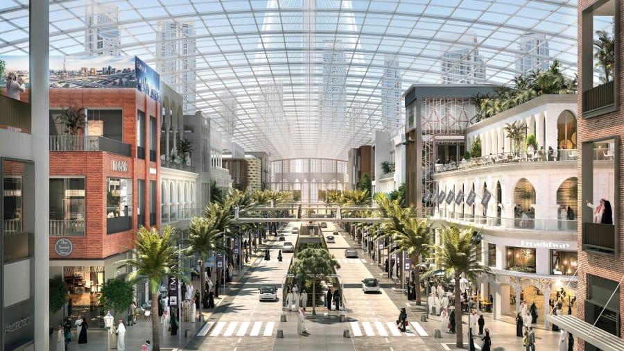 Dubai unveils plans for $2 billion tech-driven mega mall