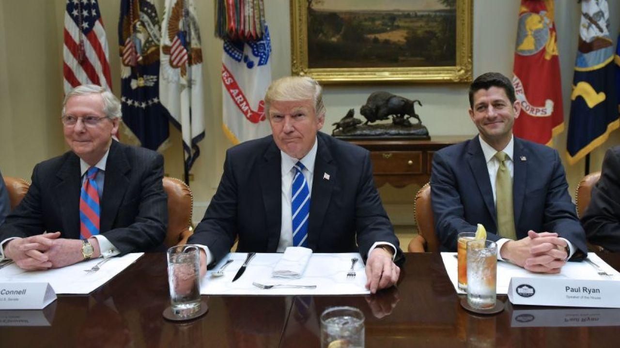 Trump promotes revamped healthcare bill
