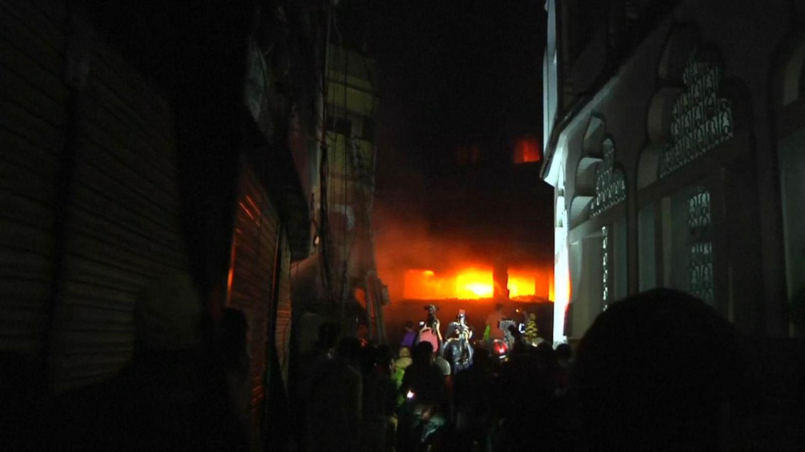 At least 70 die in Bangladesh plastics warehouse fire