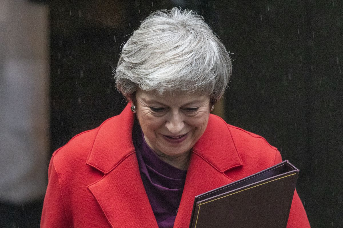 One more push needed to get deal through: Theresa May