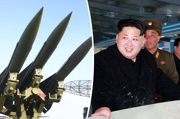 North Korea fires ballistic missile into sea off eastern coast