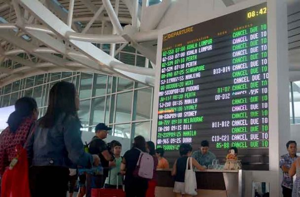 Bali closes Ngurah Rai International Airport following volcanic eruption