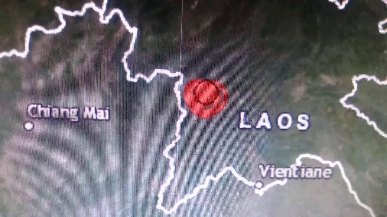 6.1-magnitude earthquake hits northwestern Laos