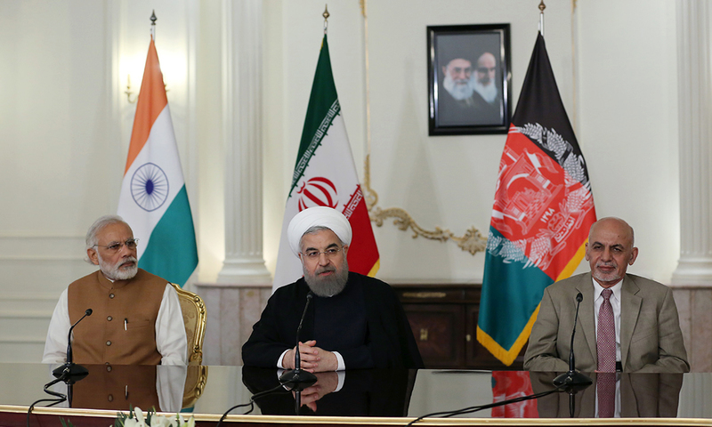 For first time, India, Iran, Afghanistan hold trilateral
