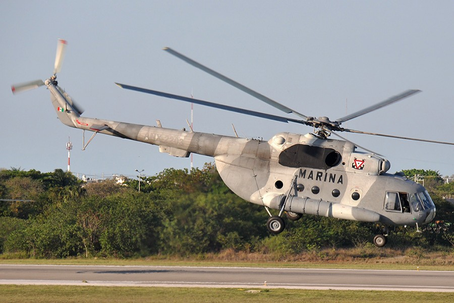 Mexico confirms 6 killed in crash of military helicopter