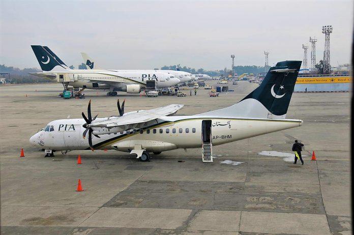 Pakistan suspends flight operations at major airports