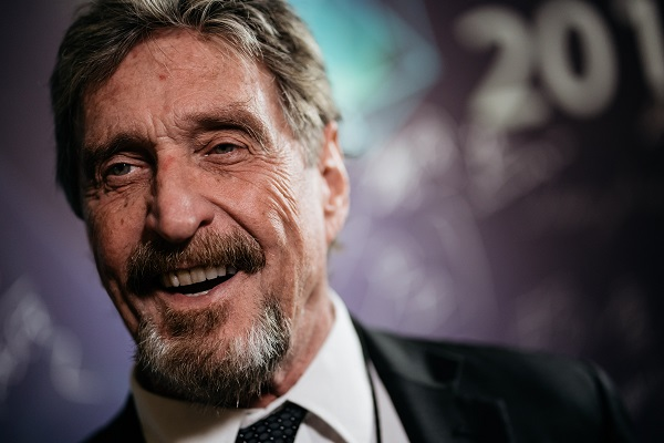 Antivirus Pioneer John McAfee Dead , Probe Team Says Could be Suicide
