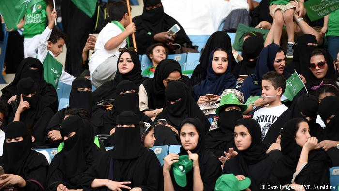 KSA : Saudi women set to enjoy football in stadium