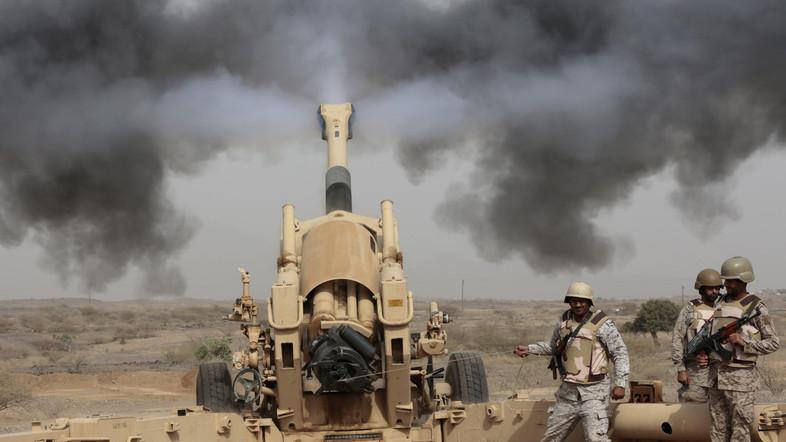 Saudi forces shoot down Houthi ballistic missile