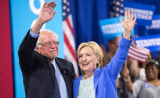 Hillary must become next US President:  Bernie Sanders