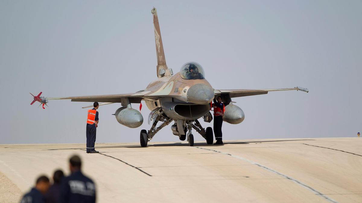 Israel carries out air strikes in Syria