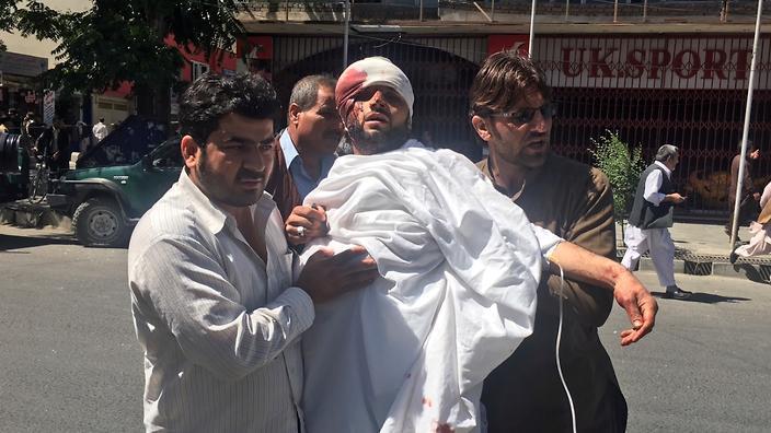 Massive Kabul truck bomb kill 49