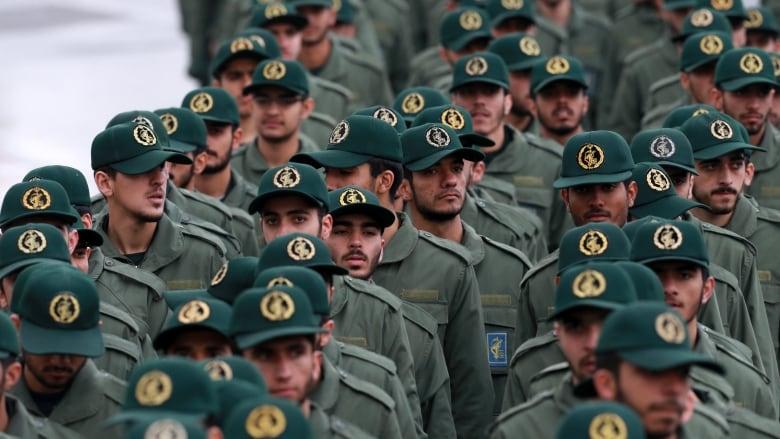 27 Revolutionary Guards killed in suicide attack in Iran