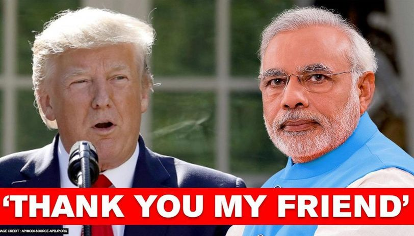 Donald Trump thanks PM Modi for US Independence Day wish