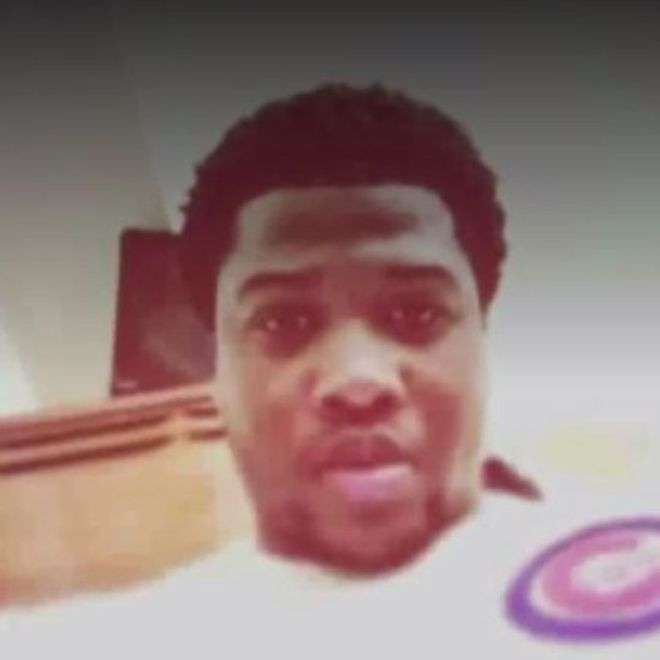 Outcry after police shoot African-American security guard