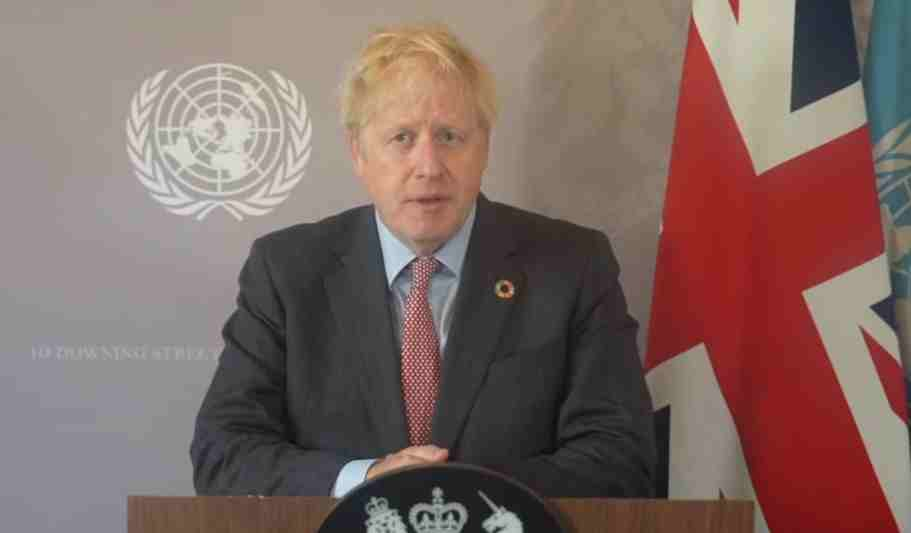 British PM Boris Johnson urges world leaders to unite against Covid-19