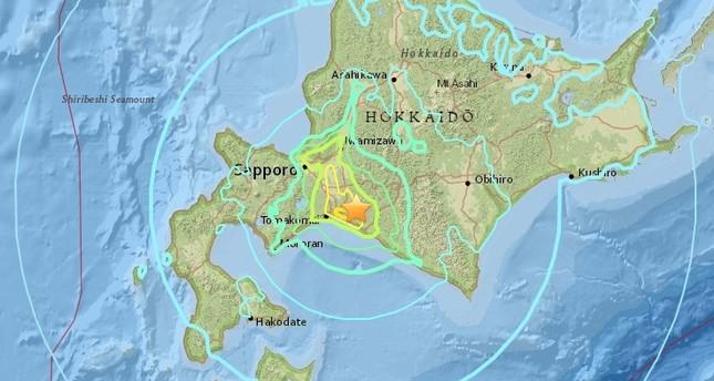6.6 magnitude earthquake hit Japan
