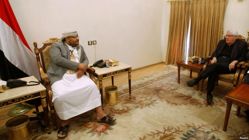 UN envoy Martin Griffiths meets Yemeni officials in Riyadh