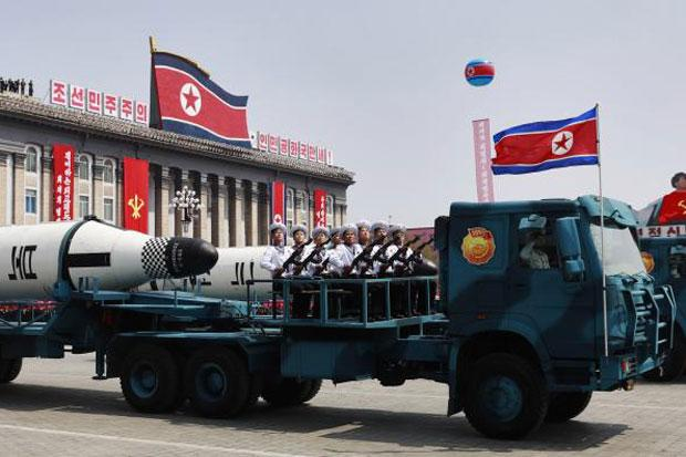North Korea test-fires missile, challenging new leader in South