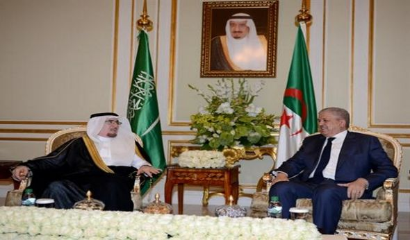 Sellal receives in Riyadh Saudi minister of Labour, Social Development+