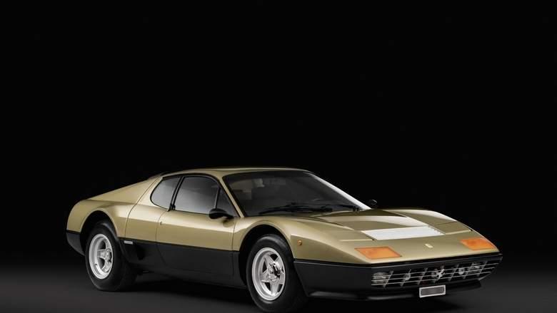Metallic gold Ferrari set for online auction next week