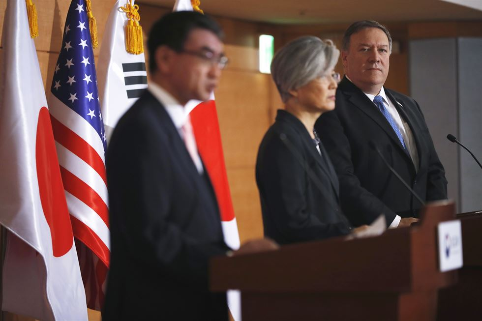 South Korea,US,Japan discuss strategy over North Korea