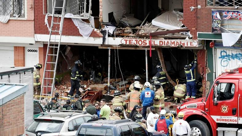 Four dead, 29 injured in Colombian factory explosion