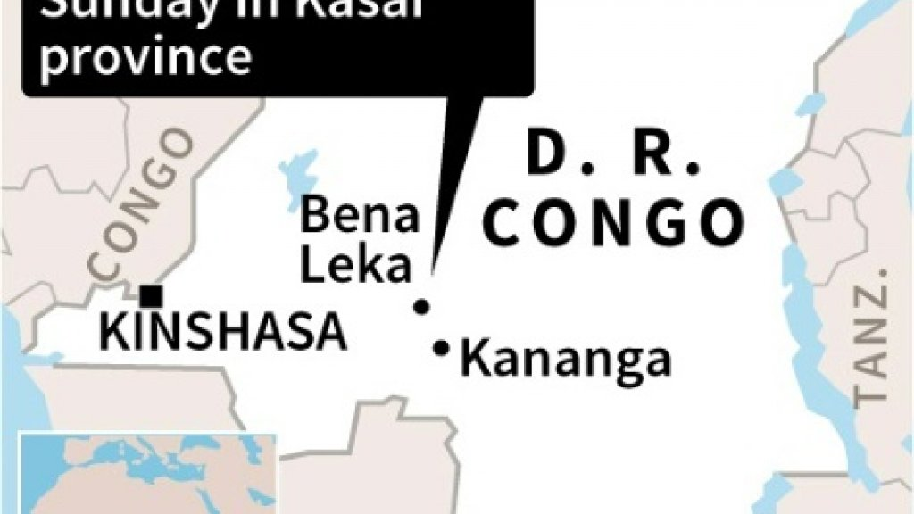 At least 24 people killed in DR Congo train derailment