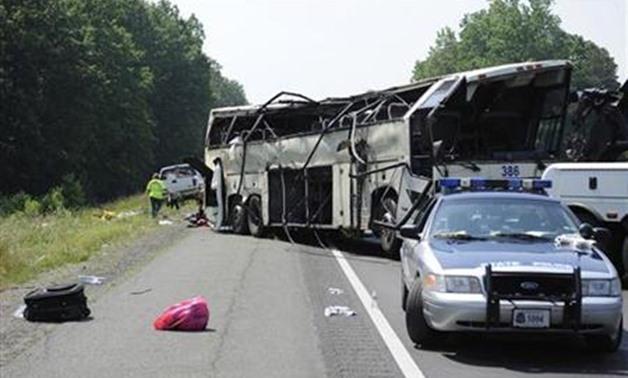 One killed, 12 injured in tourist bus crash in Iceland