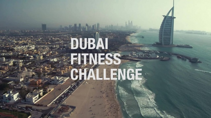 New Dubai Fitness Challenge 2018 mobile app launched