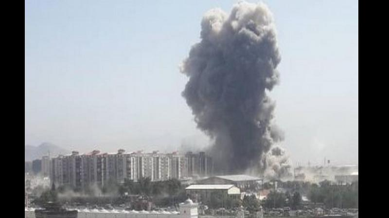 At least 68 injured in powerful explosion near US embassy in Kabul