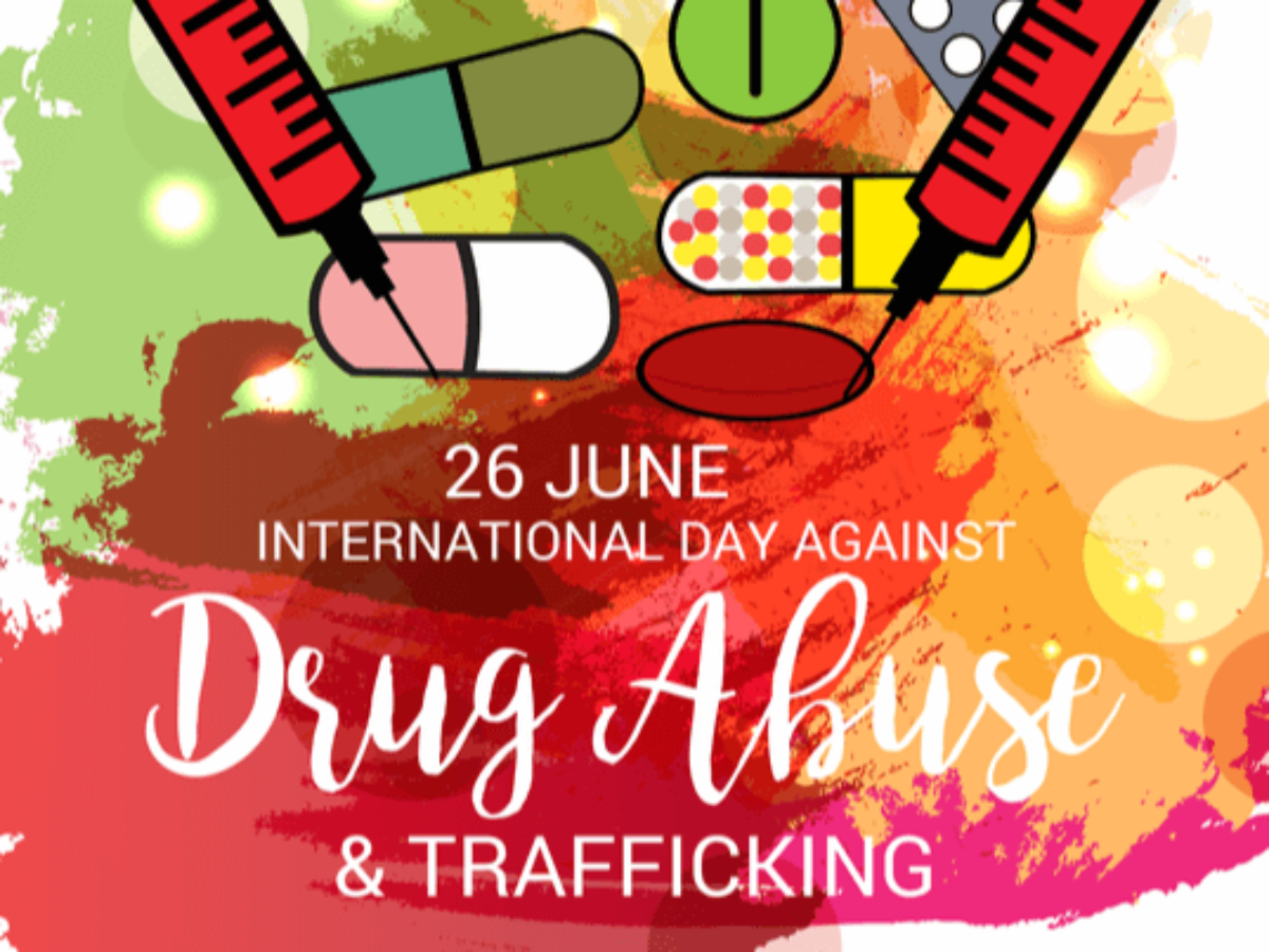 Today is International Day against Drug Abuse and Illicit Trafficking