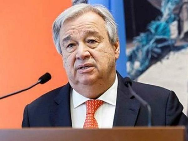 Fast, equal economic growth should be constructed: Antonio Guterres