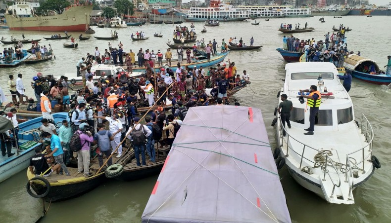 28 dead as boat sinks in Buriganga near Dhaka