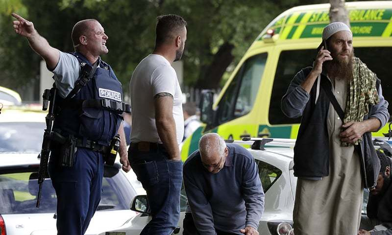 40 people killed in New Zealand mosque shooting